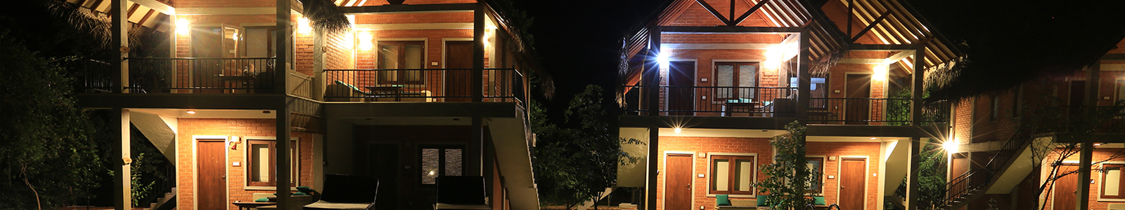 Lodges at Night