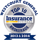 Westcourt General - Top 10 Brokerage Insurance Business - 2013 & 2014